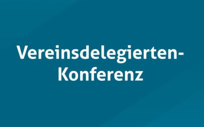 Vereinsdelegierten-Konferenz 2019