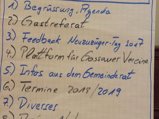 """Vereinsdelegierten-Konferenz <span class=""""numbers"""">2018</span>"""